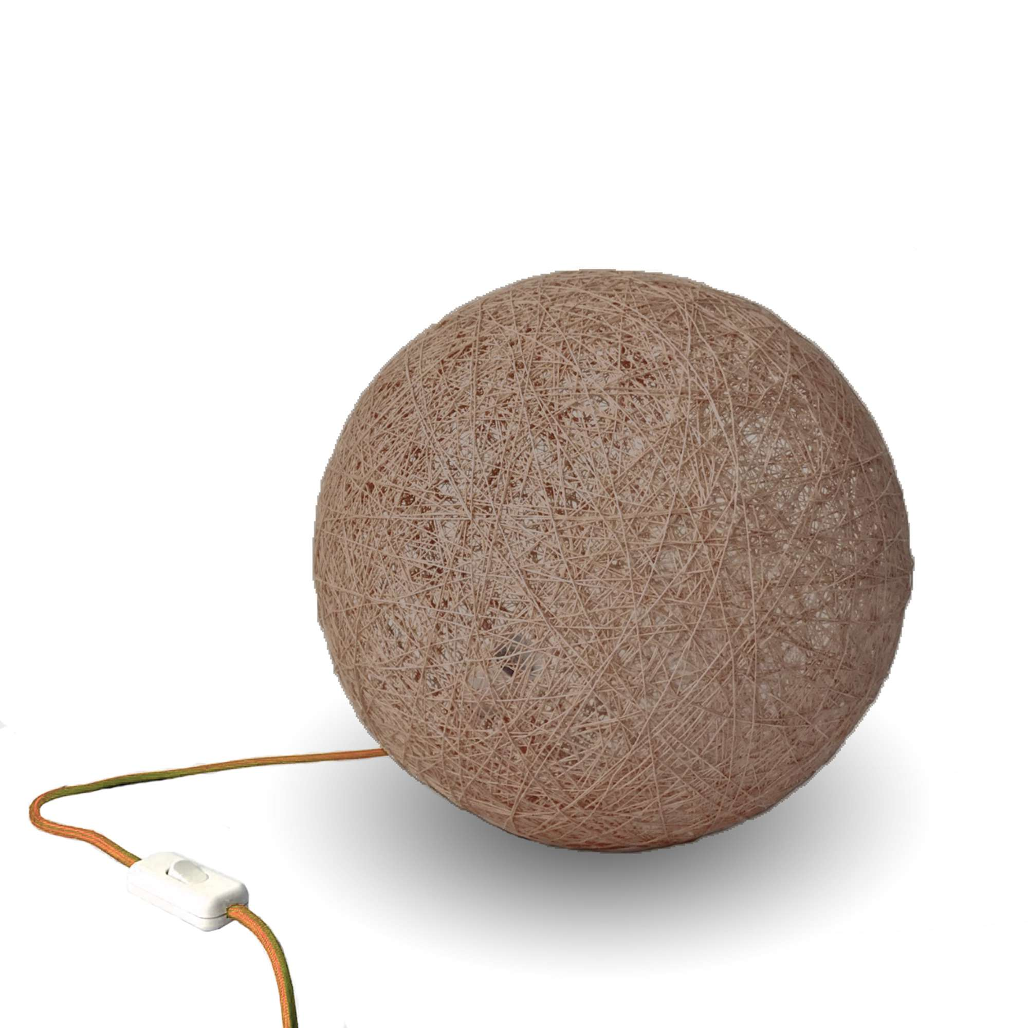 Floor lamp nordic design SPHERE brown