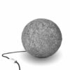 Floor lamp nordic design SPHERE light grey