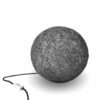 Floor lamp nordic design SPHERE grey