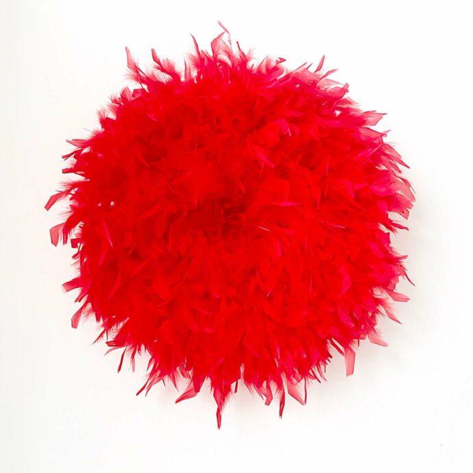 Juju hat rojo decoración paredes