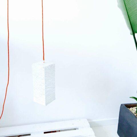Lámpara de techo geométrica CUBE
