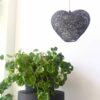 lámpara corazón de hilo hecha a mano moderna diseño