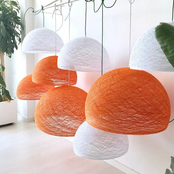 Lámpara de techo artesanal