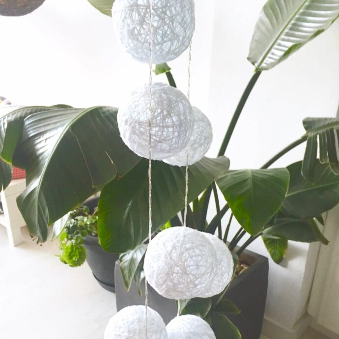 Guirnalda 20 luces LED para colgar