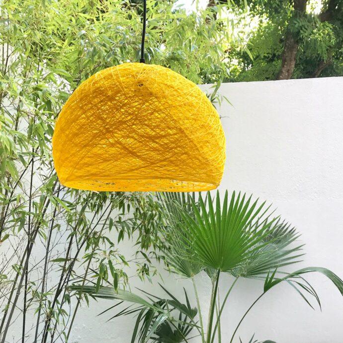 Pendant light minimalist design HALF SPHERE