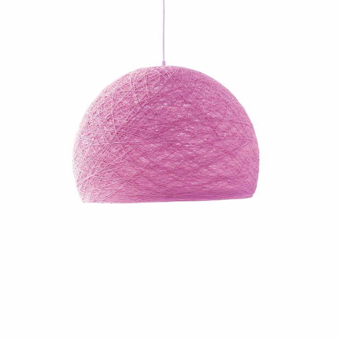 Pendant lamp Nordic design - HALF SPHERE pink
