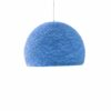 Pendant lamp Nordic design - HALF SPHERE blue