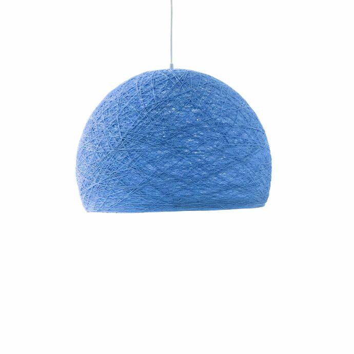 Pendant lamp Nordic design - HALF SPHERE blue