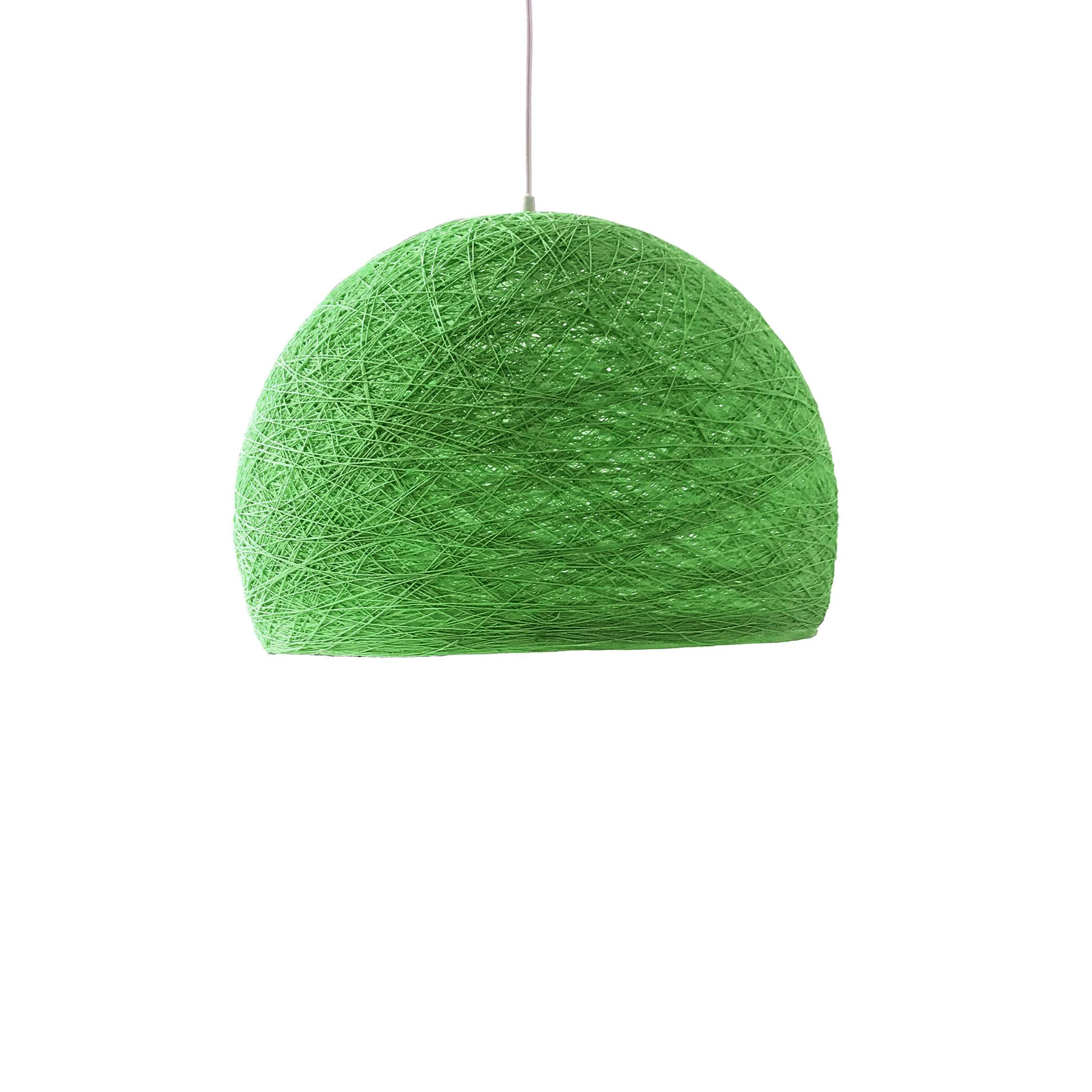 Pendant lamp Nordic design - HALF SPHERE green