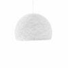 Pendant lamp Nordic design - HALF SPHERE white