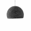 Pendant lamp Nordic design - HALF SPHERE grey