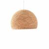 Pendant lamp Nordic design - HALF SPHERE beige