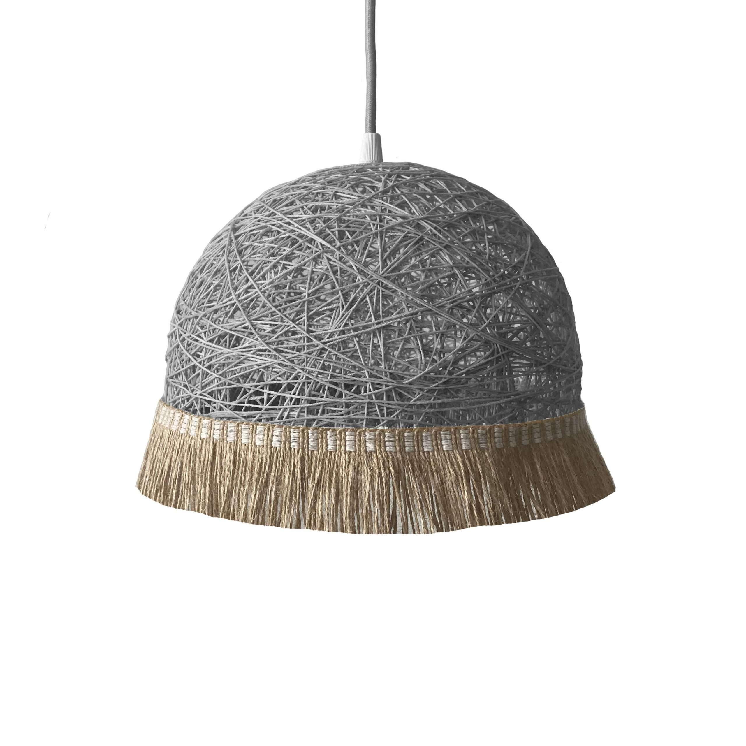 Modern pendant light - FRINGES