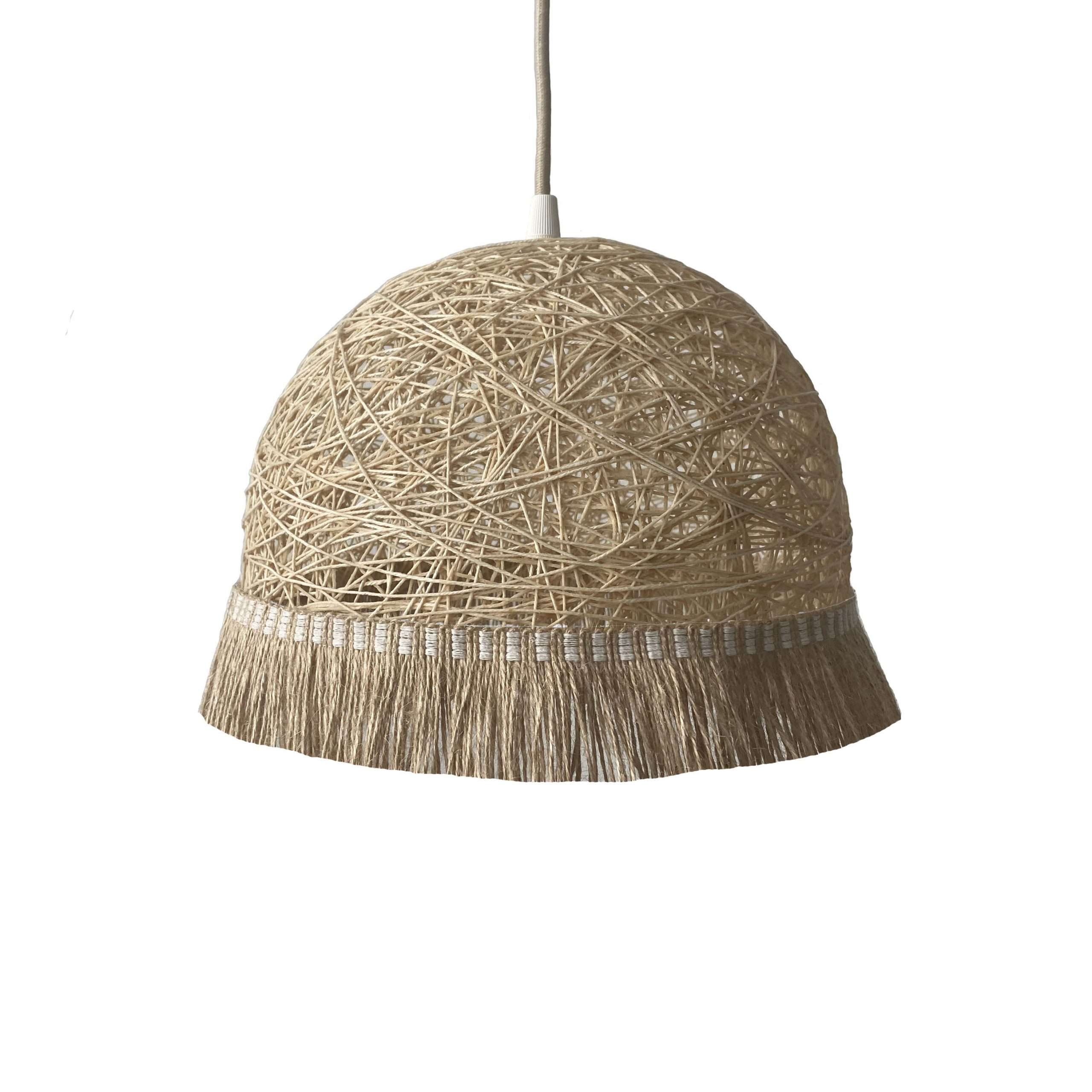 Modern pendant light - FRINGES