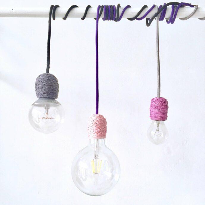 Lámparas colgantes minimalistas NUDE