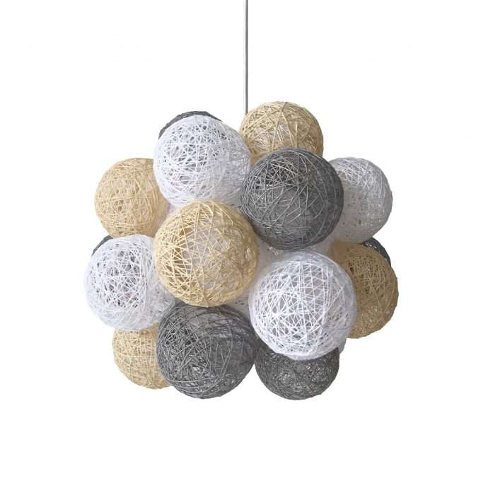 Nordic hanging lamp MOLEKULAR COLORS