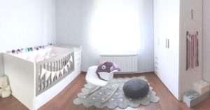 Ganxet pouf d'una habitació a Girona nadó