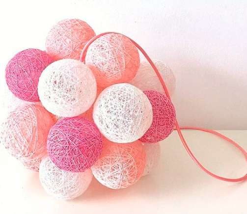 lampara rosa molekular