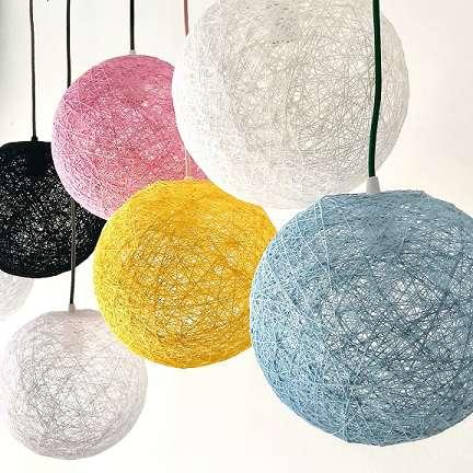 lámparas redondas