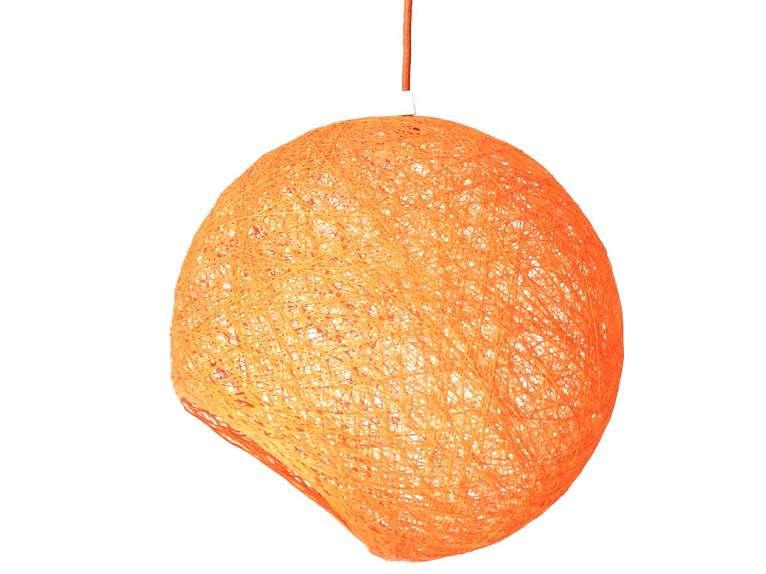lampara naranja