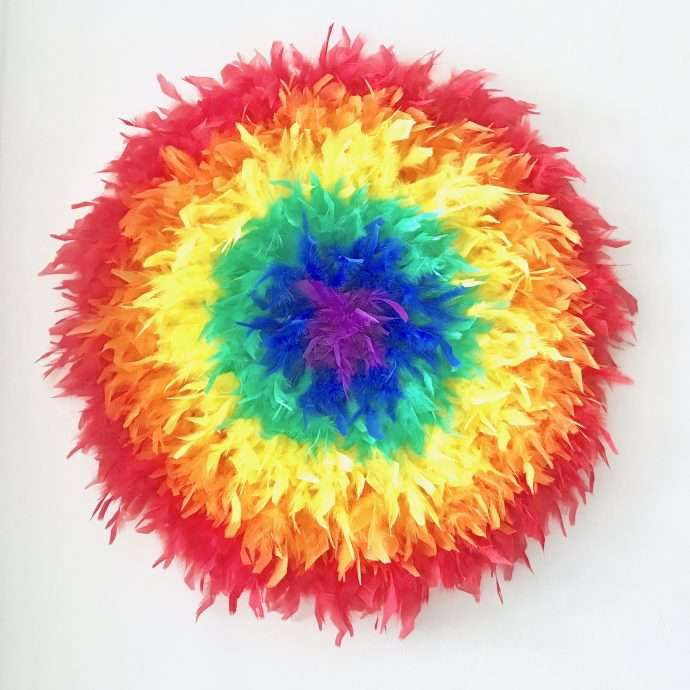 Juju hat colors wall decor