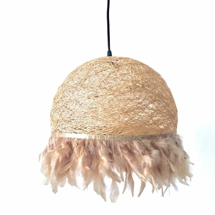 Nordic feathers lamp HALF FEATHERS
