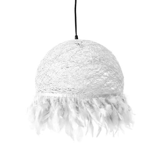 Nordic feathers lamp HALF FEATHERS white
