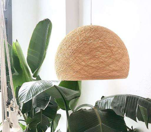 lámparas de algodón