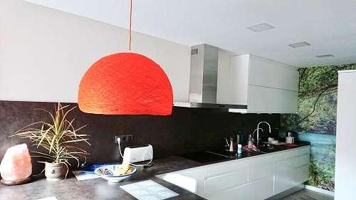 cocina luz artesanal
