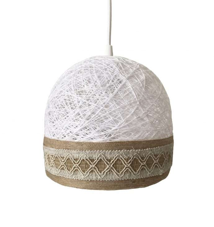Decorative ceiling lamp BOHO white