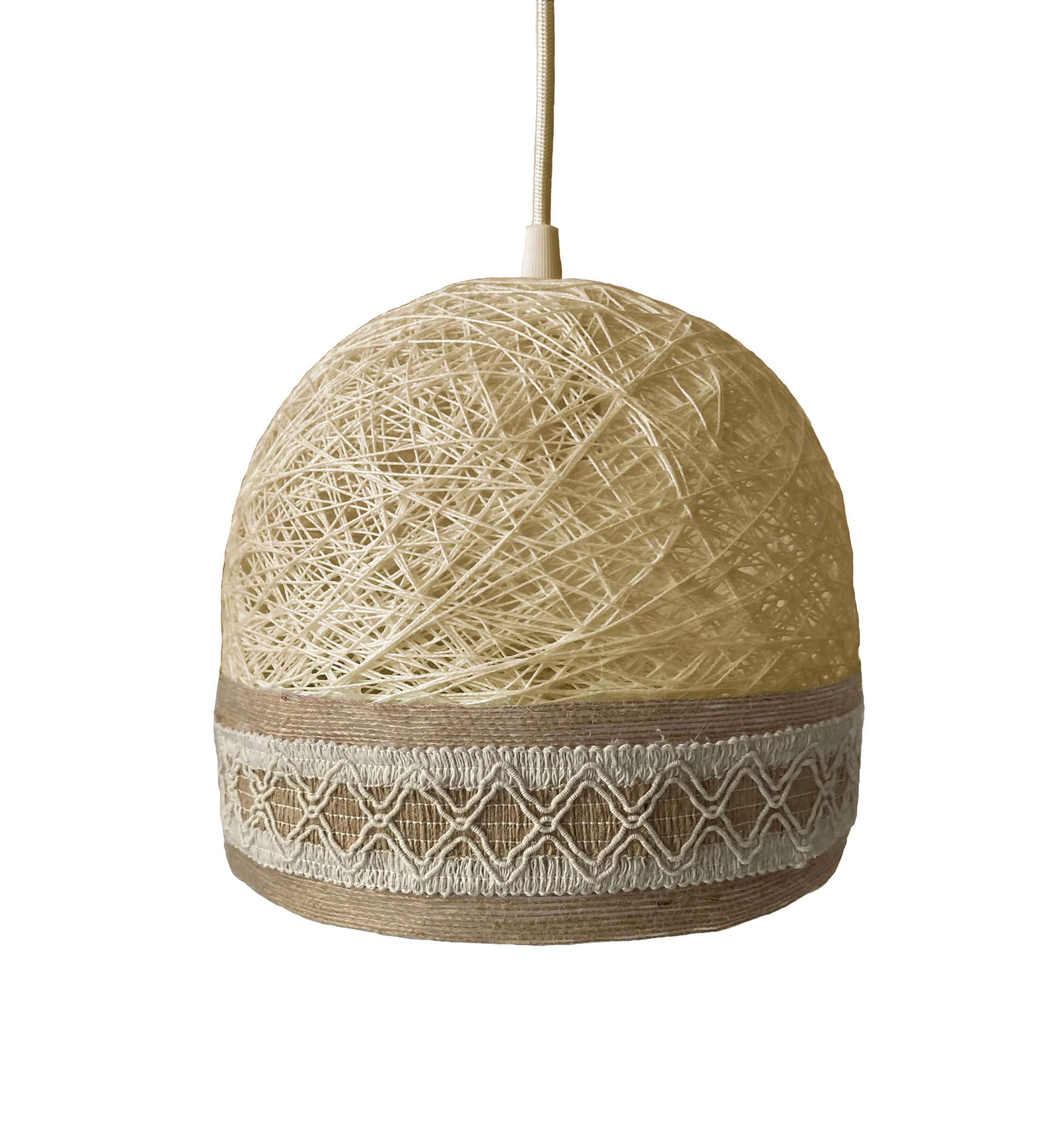 Decorative ceiling lamp BOHO beige