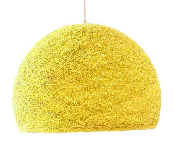 lampara amarilla